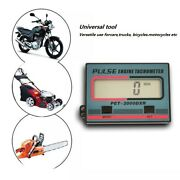 Hand-held Induction Chain Saw Tachometer Lawn Mower Gasoline Engine Timed Minute