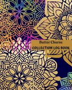 Butter Churns Collection Log Book Keep Track Your Collectables 60 Sections Fo