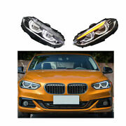 Headlight Assembly For Bmw 1 Series F52 16-20 Hid Xenon Beam Projector Led Drl