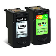 Refill Pg-210xl Cl-211xl Ink Cartridge For Canon Pixma Ip2702 Mp490 Mp495 Mp499