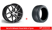 Alloy Wheels And Tyres Wider Rears 20 3sdm 0.50sf Mercedes S-class S63 Amg [w222]