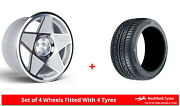 Alloy Wheels And Tyres 19 3sdm 0.05 For Mercedes Gl-class [x164] 06-12