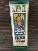 1994 Brain Quest Science 4th-6th Grade Be A Know It All 1000 Questions And Ans Nib