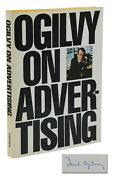 Ogilvy On Advertising Signed By David Ogilvy First Edition 1st Printing 1963