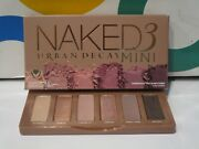 Urban Decay Naked 3 Mini Eyeshadow Palette See Picture Boxed