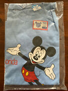 Vintage 80s Disney World Resort Mickey Mouse T Shirt Size L Large New In Bag Nos