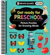 Brain Games Stem - Get Ready For Preschool Picture Puzzles For Growing Minds…