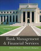 Bank Management And Financial Services By Rose, Peter|hudgins, Sylvia Hardcover