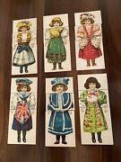 Rare Unusual Antique Victorian Bisque French German Doll Puzzle Game Toy