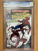 Amazing Spider-man 361 Cgc 9.8 White Pages 1st Appearance Of Carnage 🔥 Venom 2