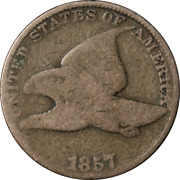 1857 Flying Eagle Cent - Die Clash Obverse Great Deals From The Executive Coin C