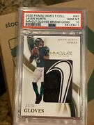 Pop 1 2020 Immaculate Jalen Hurts Nike Gloves Rc Rookie Psa 10 Eagles Ih7 /15