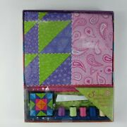 Quilting Made Easy Fun Patchwork And Quilting Kit For Kids 10+ Pillow Sew Kit