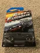 2015 Hot Wheels Fast And Furious 70 Dodge Charger R/t Fast And Furious6 3/8