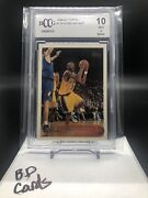 Kobe Bryant Bgs Bccg 10 1996-97 Topps Rc Rookie Card