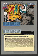 Keith Giffen Signed 1991 Dc Comics Art Trading Card Legion Of Super-heroes Losh