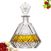 Lead-free Glass Decanter Red Wine Bottle Large Capacity Beverage Whiskey Dispens