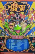 The Muppet Show 22x34 Poster Signed Autographed Whitmire Gilchrist Jsa Cert Coa