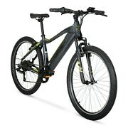 Hyper E-ride Electric Mountain Bike 26andrdquo Wheels 36 Volt Battery 2 Day Shipping