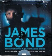 Factory Sealed Box Of James Bond Autographs And Relics Trading Cards - Rittenhouse
