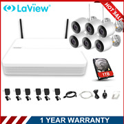 Laview 8ch Nvr Full 1080p Wireless 2mp Security Ip Camera System Ir Night Vision
