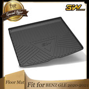 3w Trunk Mat Cargo Liner Floor Tray For Mercedes-benz Gle 2020-2021 Brand New