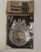 Vintage 50s/60s Deluxe Police Badges Special Police Toy Badge