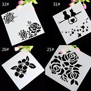 Cake Stencil Side Fondant Mold Wall Decorating Stencil Bakeware Pastry Tool N