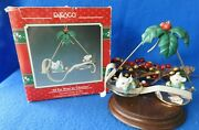 Enesco Ornament 1990 All Eye Want For Christmas 2nd Christmas Spectacles Series