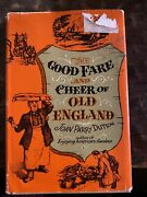 The Good Fare And Cheer Of Old England By Joan Parry Dutton 1960 First Edition