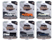Dually Drivers Set Of 6 Trucks Series 6 1/64 Diecast Model Cars By Greenlight