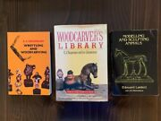 Whittling And Woodcarving By E. J. Tangerman 1962 Plus Awesome Bonus Books