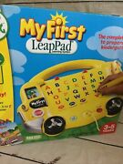 N5 My First Leap Pad School Bus Learning System Leaps Big Day Backpack