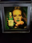 Tanqueray London Dry Gin Motion Moving Sexy Lady Light Up Sign Man Cave Rare