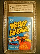1975 Wacky Packages Pack Series 7 Graded Gai 8.5 Topps