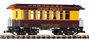 Piko 38648 Union Pacific Up Wood Coach 1869 G-scale
