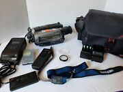 Sony Handycam Ccd-tr86 Video Camera Recorder Lot Working Extras