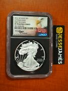 2016 W Proof Silver Eagle Ngc Pf70 Ultra Cameo First Releases Mercanti Signed