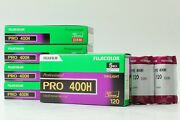 [new+bonus] Fujifilm 400h 27roll 120 Color Negative Film From Japan Discontinued