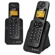 Ornin D1005 Cordless Desk Telephone For Home And Office Use Eco Technology Ru...