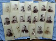 20 Cabinet Photos Worcester Ma 1879 Poly Tech Institute Graduates By Gw Pach