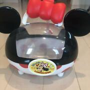 Disneyland Limited Edition Minnie Mouse Lunch Box Accessory Case Toontown Pretty
