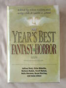 1st Ed Years Best Fantasy And Horror 2006 19th Annual Collection Hardcover Book