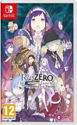 Rezero - Starting Life In Another World The Prophecy Of The Throne Switch New