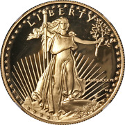 1986-w Gold American Eagle 50 Ngc Pf70 Ultra Cameo Brown Label - Stock