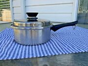 Vintage Amway Queen Cookware 3 Ply 18-8 1 Quart Stainless Sauce Pan Pot With Lid