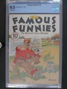 Famous Funnies 28 - Cbcs 8.0 Vf - Eastern Color 1936 - Single Highest Grade