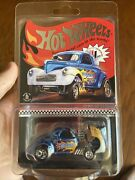 2020 Hot Wheels Rlc Selections Blue Wild Blue Spectraflame And03941 Willys Gasser Car