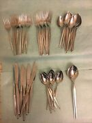 Towle Vintage Silverware Set - 48 Pieces 18-8 Stainless German And Usa