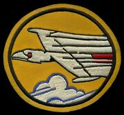 Usaf 58th Fighter Squadron Jet Otis Afb Patch S-3